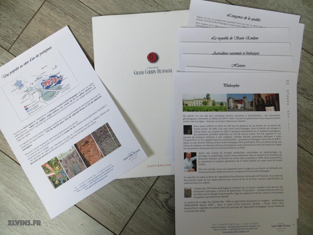 Cercle des vins de Bordeaux: rive droite