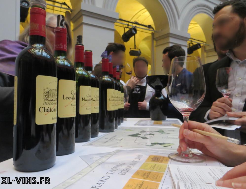 Bordeaux Wine Tasting 2016