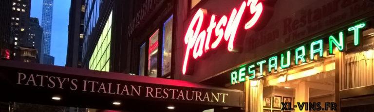 Patsy's, italian food, New York