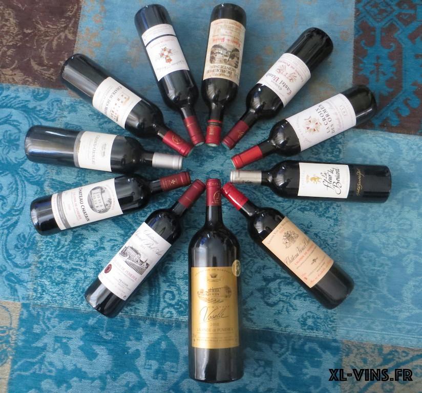 Quelques bouteilles de Lalande de Pomerol