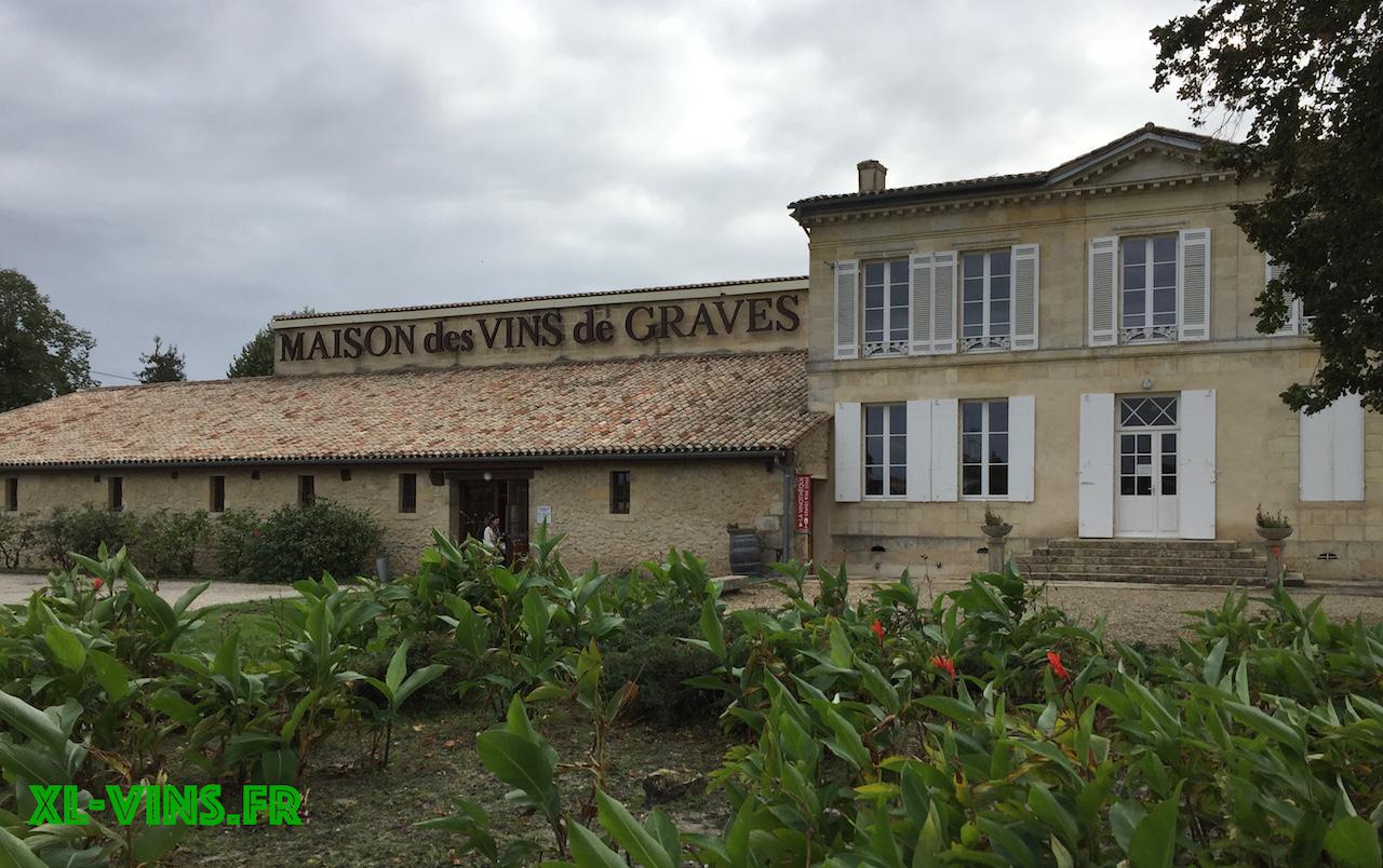 La maison des vins de Graves à Podensac
