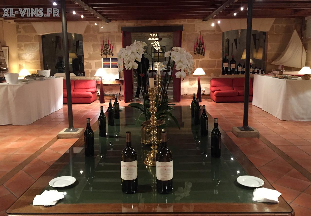 Wine-dinner au Domaine de Chevalier Pessac-Léognan