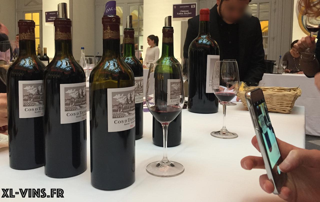 Saint-Estephe tasting, édition 2018