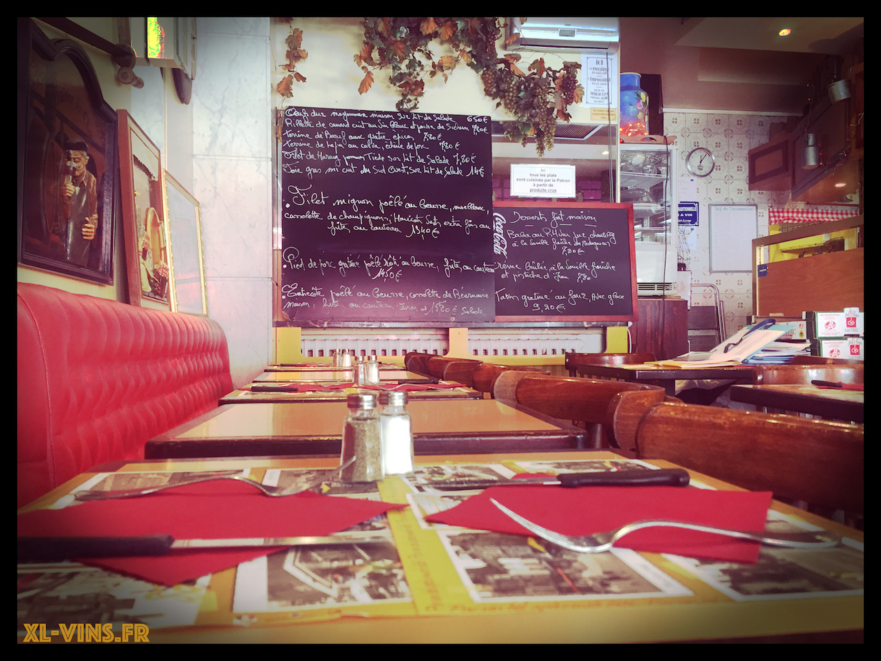 Bistrot Le Saint-Amour, Paris 1er arrondissement