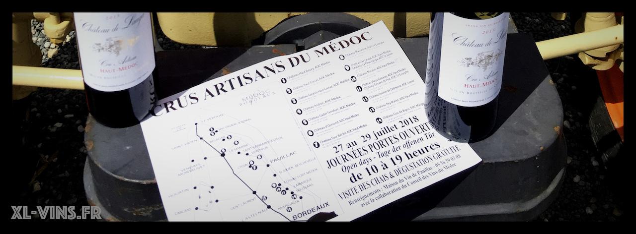 Crus Artisans du Médoc: portes ouvertes 2018
