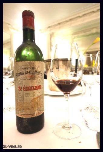 Canon La Gaffelière 1955 Academie vins anciens 31