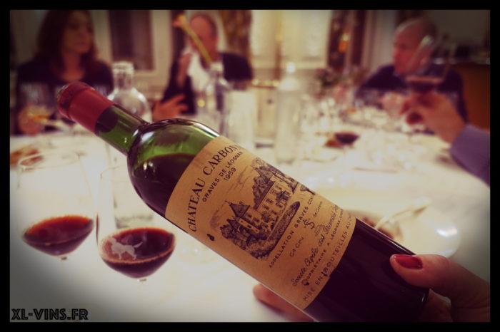 Carbonnieux 1959 Academie vins anciens 31