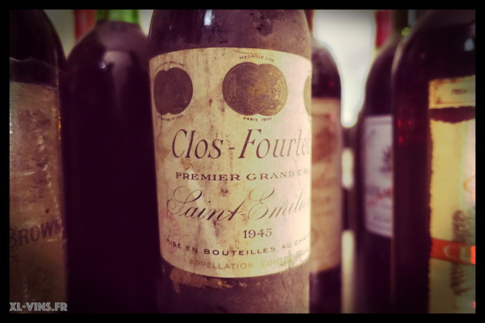 Clos Fourtet 1945 Academie vins anciens 31