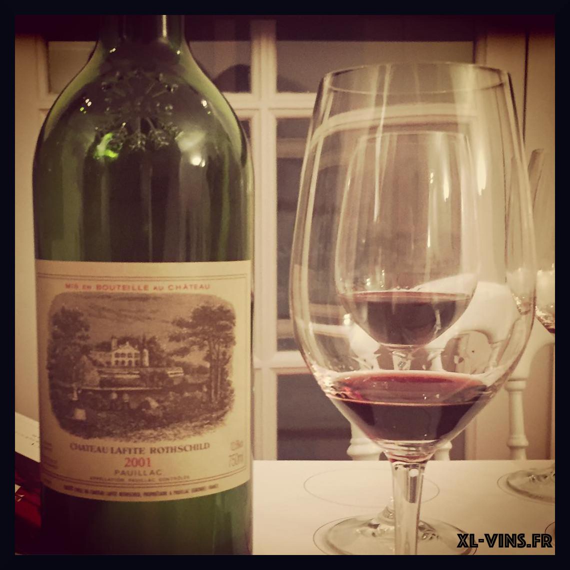 Bordeaux wine tasting 2018 lafite 2001