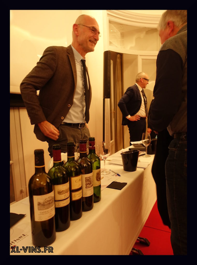 Bordeaux wine tasting 2018 Lafite director