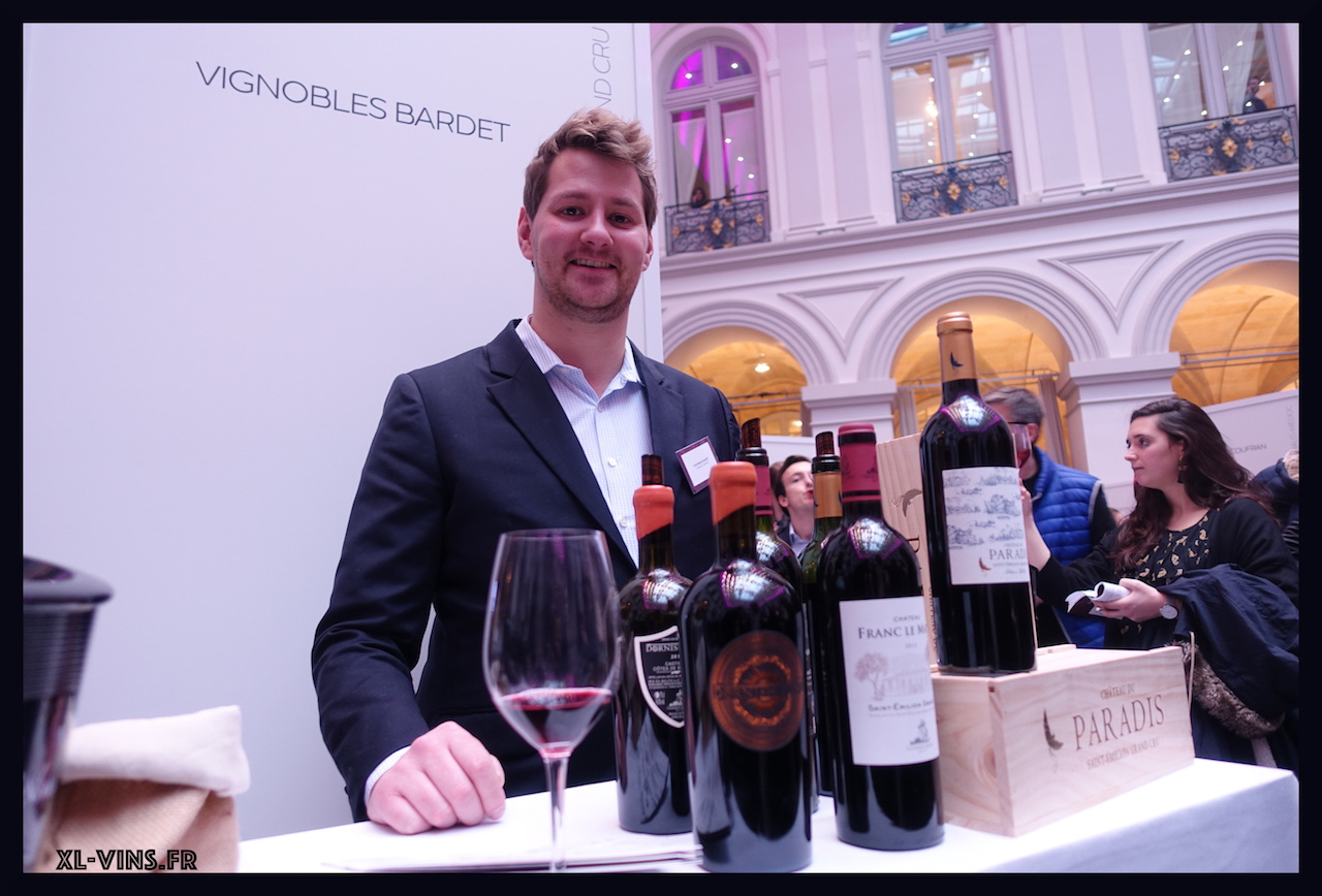Bordeaux wine tasting 2018 exposant bardet