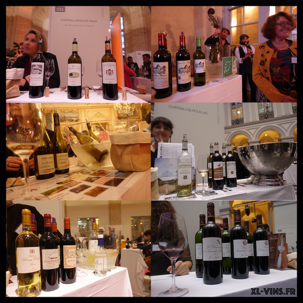 Bordeaux wine tasting 2018