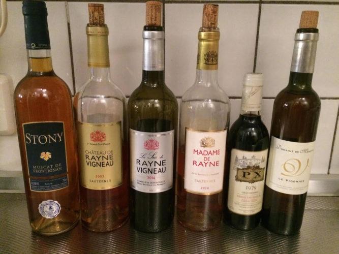 Peter Klerkx des Pays-Bas est un grand amateur de vins liquoreux !