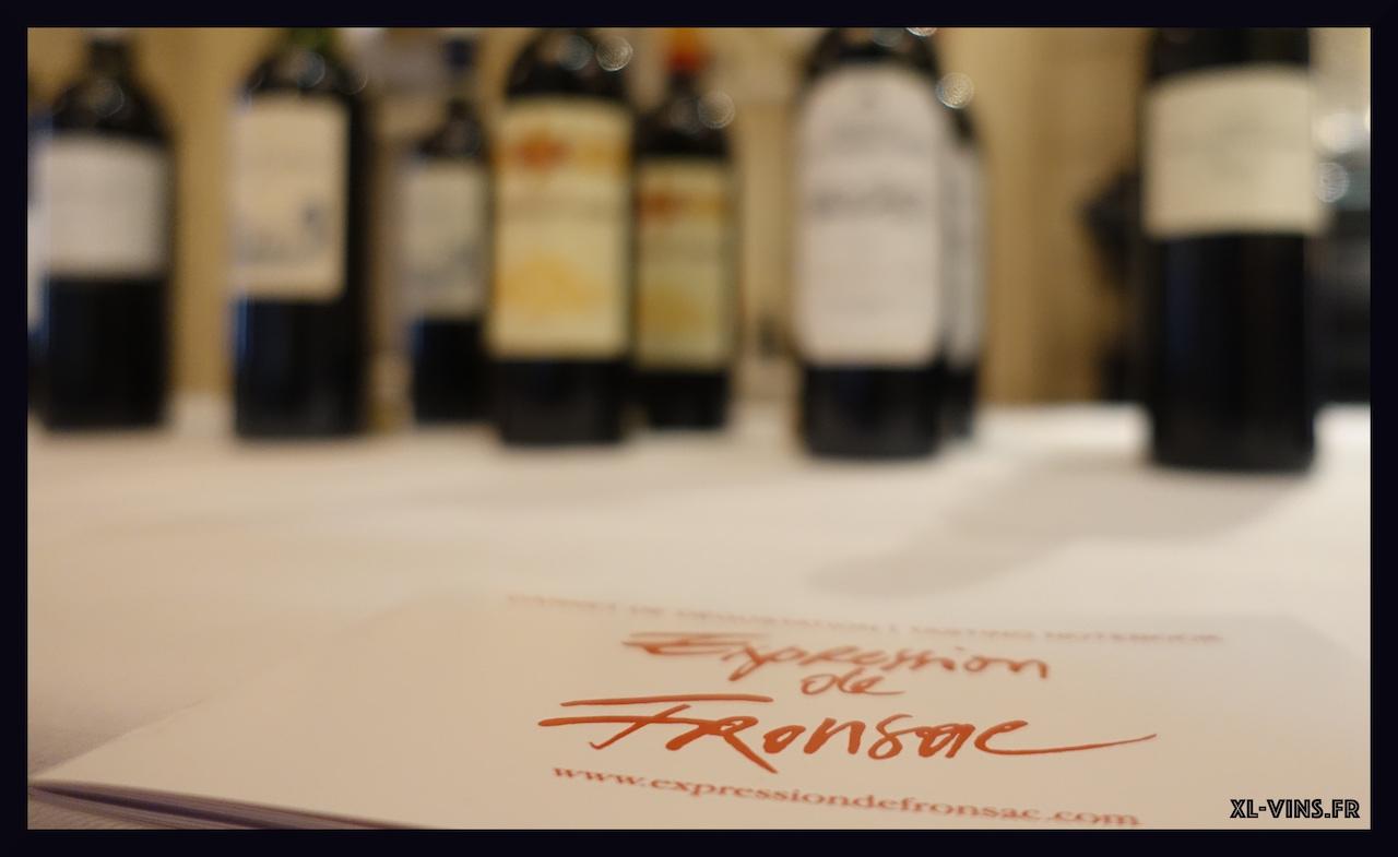 Dégustation des vins de Fronsac