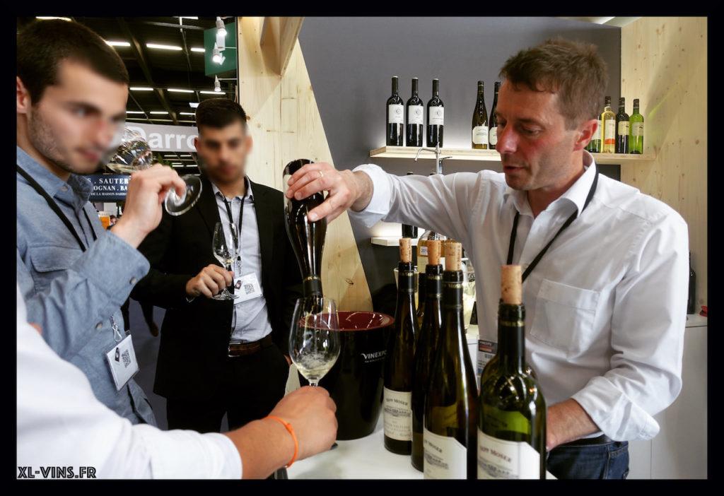 Sepp Moser tasting