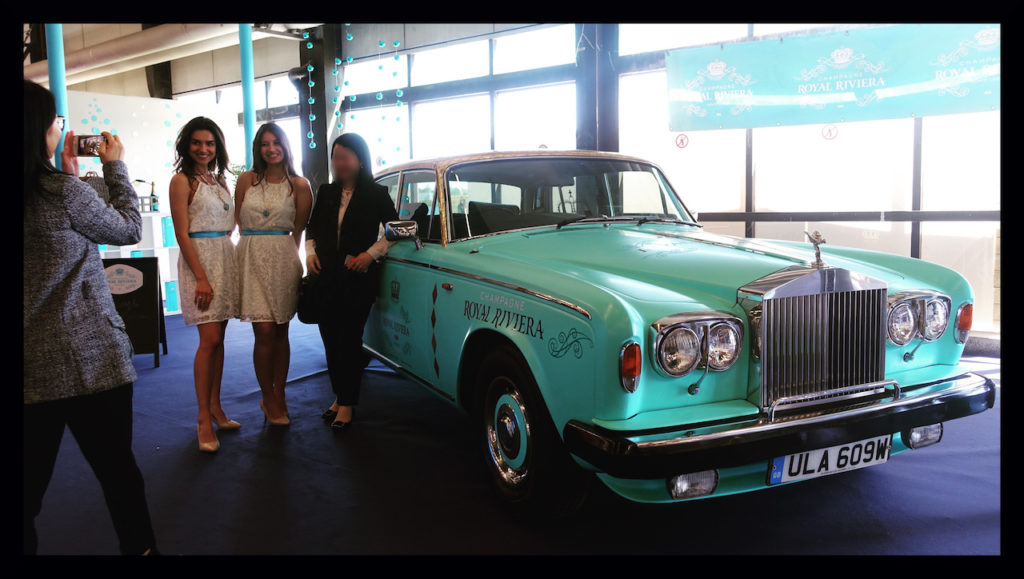 Le Champagne Royal Riviera et sa Rolls Royce!