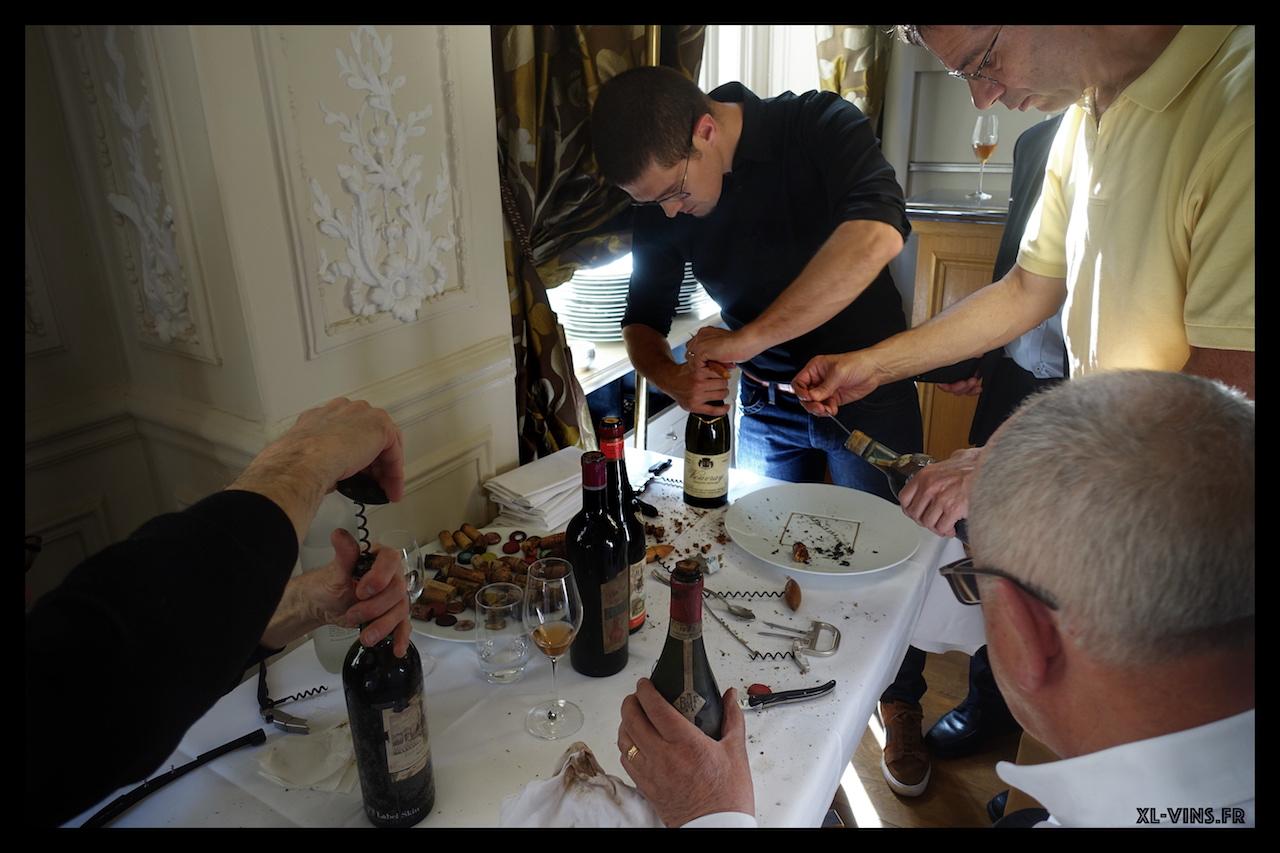 Académie des vins anciens Mai 2019 ouvreurs