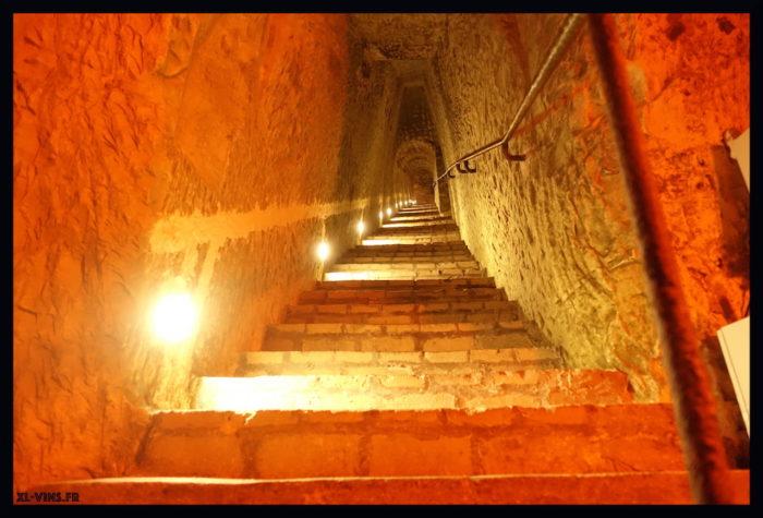 Charles Heidsieck-escalier