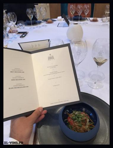 Charles Heidsieck-menu
